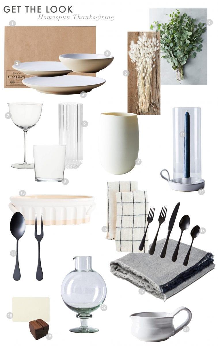 Emily Henderson Budget Thanksgiving Homespun 2