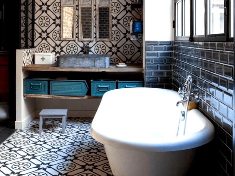 Industrial Style Bathrooms You'll Love in Romantic Paris, Paris, Industrial Bathroom, Bathroom, Maison et Objet ideas, Interior Design, Design,Industrial Home Industrial Style Bathrooms You'll Love in Romantic Paris Industrial Style Bathrooms You'll Love in Romantic Paris 2