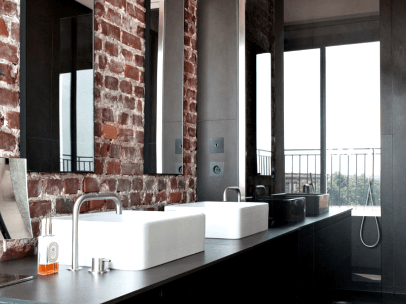 Industrial Style Bathrooms You'll Love in Romantic Paris, Paris, Industrial Bathroom, Bathroom, Maison et Objet ideas, Interior Design, Design,Industrial Home Industrial Style Bathrooms You'll Love in Romantic Paris Industrial Style Bathrooms You'll Love in Romantic Paris 4