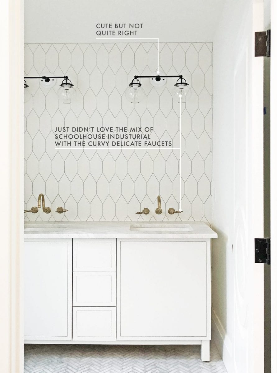 Emily Henderson modern bathroom ideas