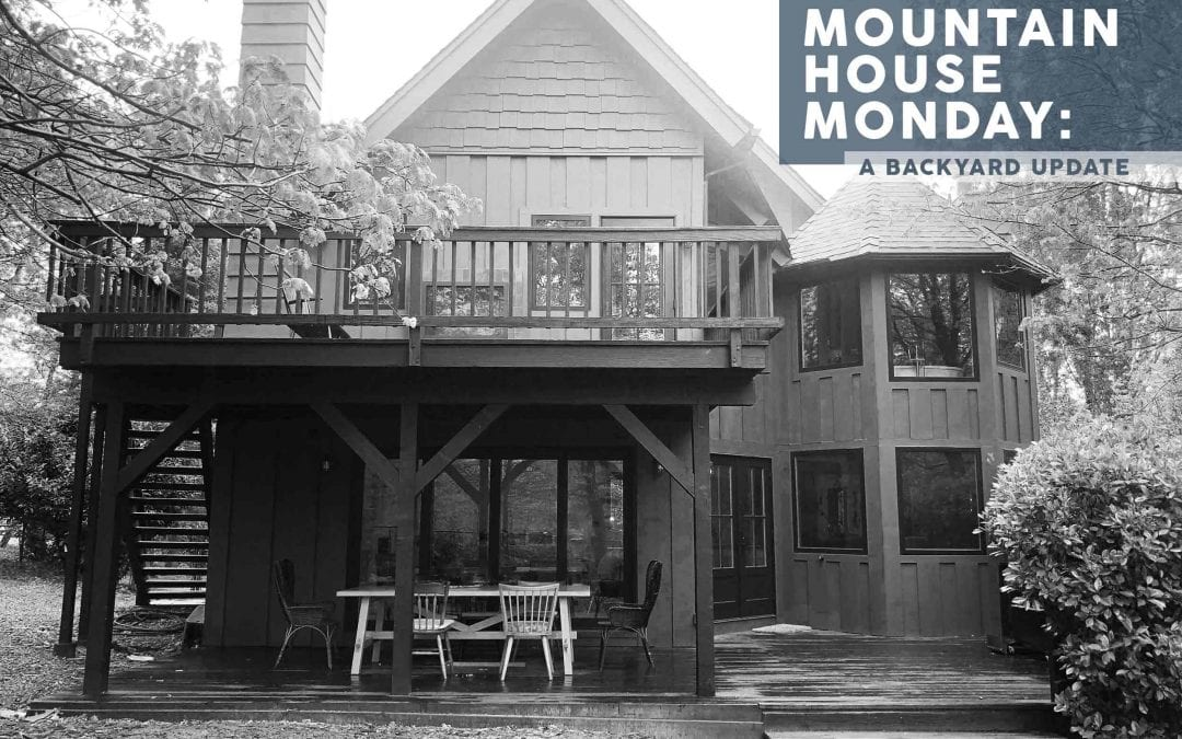 Mountain House Monday: The Exterior Update and Plan (or Lack Thereof)