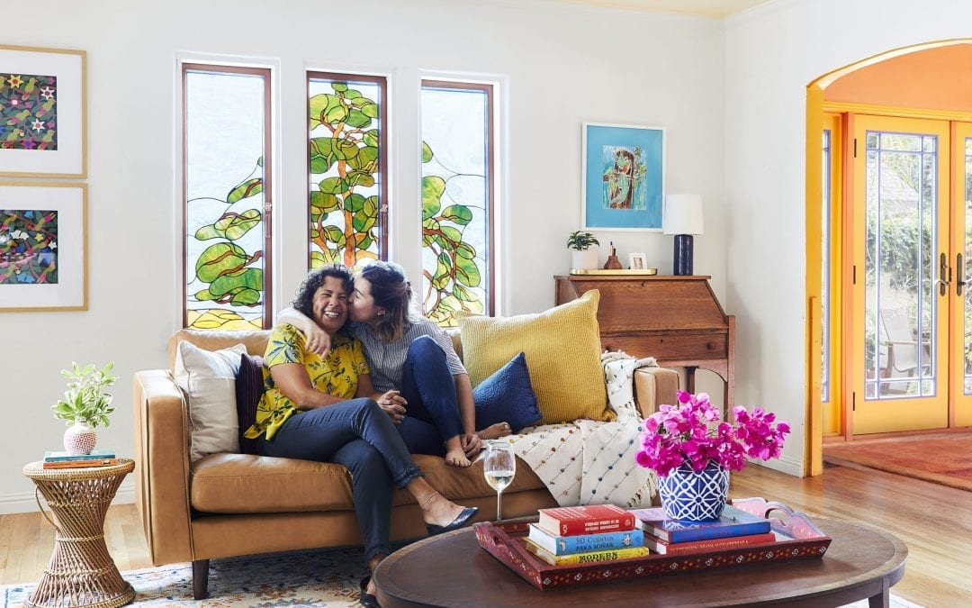 Sara Gives Her Mothers Living Room a Refresh for Mother's Day