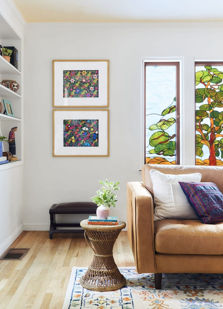 1Emily Henderson living room colorful17