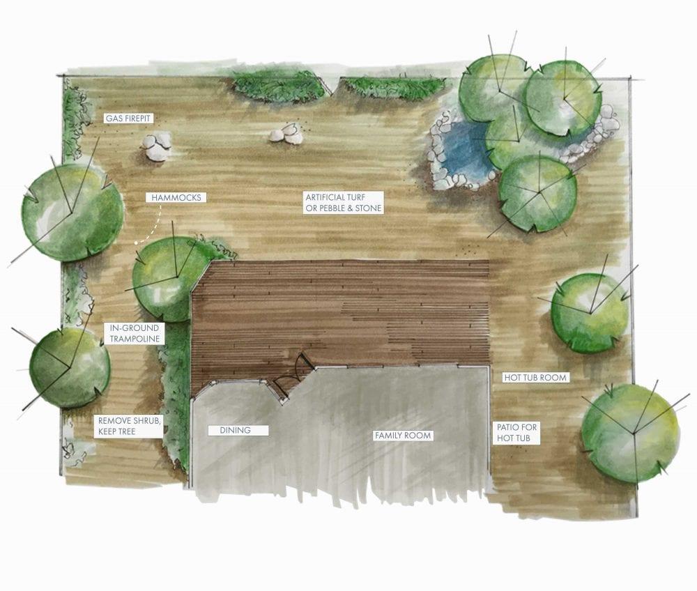Mountain House Backyard Handdrawing1