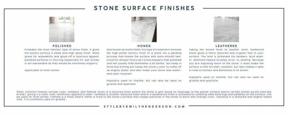 Emily Henderson Mountain House How To Choose Stone Stone Finish V2